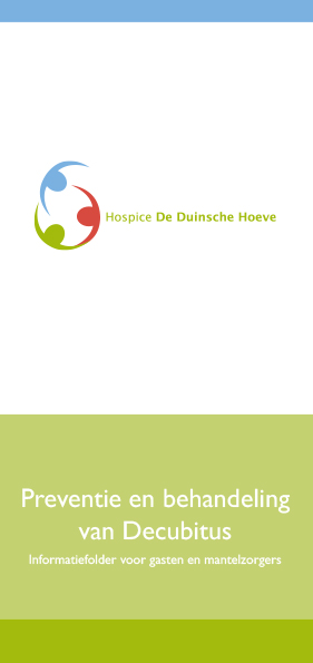 Hospice De Duinsche Hoeve_Folder Decubitus